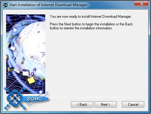 حمل بكامل سرعتك ببرنامج ( Internet Download Manager ) + طريقة التفعيل مدى الحياة Attachment